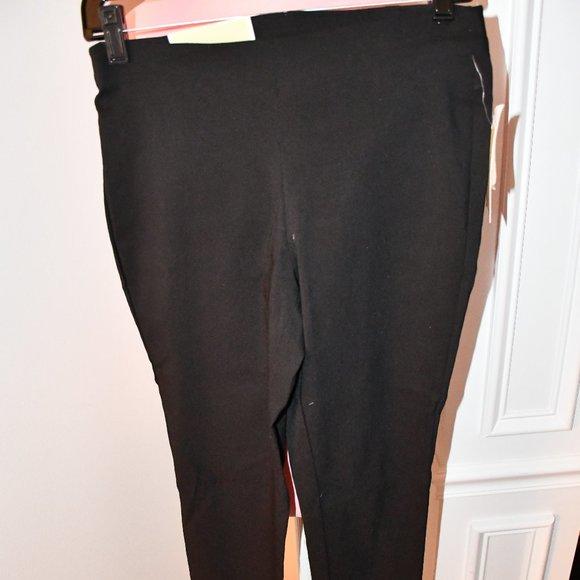 Michael Kors Super Skinny Pullon Black Size: SMALL